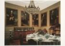Anoniem  -  Eetkamer met Voorouderportretten familie van Tuyll - Postkaart -  A6981-1
