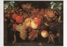 Abraham Mignon (1640-1679)  -  Vruchtenfestoen - Postkaart -  A7041-1