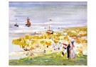 Max Liebermann (1847-1935)  -  The Beach at Scheveningen, 1900 - Postkaart -  A70673-1