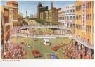Anoniem,  -  Anoniem/drukke nanjingweg/IISG - Postkaart -  A7092-1