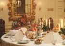 -  Detail gedekte tafel in de Nieuwe Eetzaal van Pale - Postkaart -  A7135-1