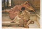Sir L.Alma-Tadema(1836-1912)  -  Een lievelingsdichter, opus CCXC, oktober 1888 - Postkaart -  A7290-1