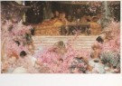 Sir L.Alma-Tadema(1836-1912)  -  Studie voor De rozen van Heliogabalus, ca. 1888 - Postkaart -  A7298-1