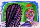 Lucebert (1924-1994)  -  Zonder titel - Postkaart -  A7356-1