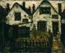 Suze Robertson (1855-1922)  -  Witte huizen+tuint - Postkaart -  A7374-1