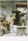 Sir L.Alma-Tadema(1836-1912)  -  De beeldengalerie - Postkaart -  A7397-1