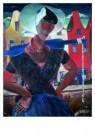Reimond Kimpe (1885-1970)  -  Arnemuidse visvrouw - Postkaart -  A7428-1