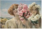 Sir L.Alma-Tadema(1836-1912)  -  Een zomerse offerande, opus CCCCIII, maart 1911 - Postkaart -  A7432-1