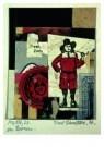 Kurt Schwitters (1887-1948)  -  MZ 1926,24 Zoo - Postkaart -  A7556-1