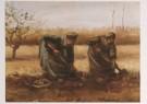Vincent van Gogh (1853-1890)  -  Twee aardappelrooiende boerinnen - Postkaart -  A7571-1