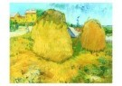 Vincent van Gogh (1853-1890)  -  Hooimijten - Postkaart -  A7573-1