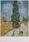 Vincent van Gogh (1853-1890)  -  De weg met de cypres en de ster - Road with cypres - Postkaart -  A7574-1