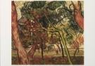 Vincent van Gogh (1853-1890)  -  Herfststudie van dennebomen - Study of fir trees, - Postkaart -  A7576-1