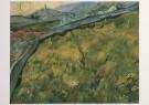 Vincent van Gogh (1853-1890)  -  Veld met jong koren bij opgaande zon - The enclose - Postkaart -  A7584-1