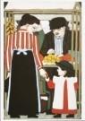 Bart van der Leck (1876-1958)  -  Fruitverkoper, 1913 - Postkaart -  A7589-1