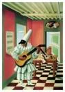 Gino Severini (1883-1960)  -  Polichinelle - Postkaart -  A7596-1
