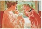 Maurice Denis (1870-1943)  -  Moederweelde - Maternal bliss, waarschijnlijk 1910 - Postkaart -  A7598-1