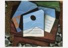 Juan Gris (1887-1927)  -  J.Gris/Stilleven guitaar/KM - Postkaart -  A7603-1