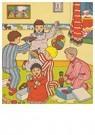 Anonymus  -  Kinderen spelen met cadeaus - Postkaart -  A76052-1