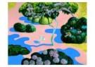 Herman Gordijn (1932-2017)  -  Vondelpark (beneden) - Postkaart -  A7638-1
