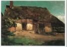 Willem Roelofs (1822-1897)  -  W. Roelofs/De hut/KM - Postkaart -  A7654-1