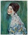 Gustav Klimt (1862-1918)  -  Porträt einer Dame, 1916 - 1917 - Postkaart -  A76675-1