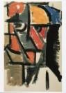 Theo van Doesburg (1883-1931)  -  Portret, ca. 1918-19 - Postkaart -  A7684-1