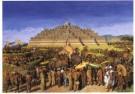 -  Processie bij Borobudur - Postkaart -  A7704-1