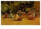 Isaac Israels (1865-1934)  -  Gamelanspelers - Postkaart -  A7726-1