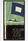 Jan Lavies (1902-2005)  -  J.Lavies/Omslag afvaartlijst - Postkaart -  A7754-1