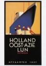Jan Lavies (1902-2005)  -  J.Lavies/Omslag afvaartlijst - Postkaart -  A7755-1