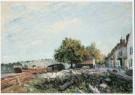Alfred Sisley (1839-1899)  -  Saint-Mammès, ochtend - Postkaart -  A7777-1