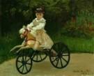 Claude Monet (1840-1926)  -  Jean Monet op z'n hobbelpaard - Postkaart -  A7786-1