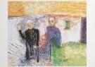 Job Hansen (1899-1960)  -  Moeder en tante te Stitswerd, 1953 - Postkaart -  A7805-1