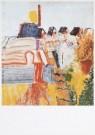 Job Hansen (1899-1960)  -  Daken Noord, 1955 - Postkaart -  A7811-1