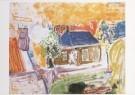 Job Hansen (1899-1960)  -  Twee schilders en twee oude vrouwtjes, 1952 - Postkaart -  A7812-1