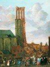 Jan Grasdorp (1642-1686)  -  Ingestorte toren. - Postkaart -  A7817-1