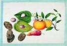 Anoniem  -  Vruchten uit album Chinese sch - Postkaart -  A7849-1