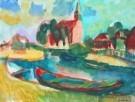 Jaap Min (1914-1987)  -  West-Grafdijk - Postkaart -  A7880-1
