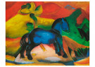 Franz Marc (1880-1916)  -  Das blaue Pferdchen, 1912 - Postkaart -  A79281-1