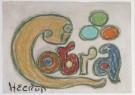 Henry Heerup (1907-1993)  -  Cobra, ca. 1973 - Postkaart -  A7930-1