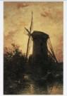 Johan B. Jongkind (1819-1891)  -  J.B.Jongkind/Molen a.h. water - Postkaart -  A7981-1