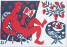 Eddy Varekamp (1949)  -  E. Varekamp/Man met sexboekje - Postkaart -  A8033-1