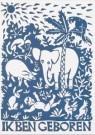 Eddy Varekamp (1949)  -  Ik ben geboren met veel wilde beesten - Postkaart -  A8034-1