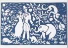 Eddy Varekamp (1949)  -  E. Varekamp/Trouwen in oerwoud - Postkaart -  A8036-1