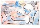 Paul Klee (1879-1940)  -  Winter Sleep, 1937 - Postkaart -  A80863-1