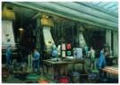 Herman Heijenbrock (1871-1948) -  Rouleaudrukkerij - Postkaart -  A8097-1