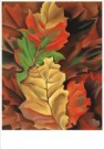 Georgia O'Keeffe (1887-1986)  -  Autumn Leaves - Postkaart -  A8137-1