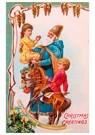 Anonymus  -  Kerstman houdt kind vast - Postkaart -  A81453-1
