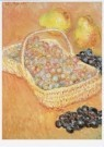 Claude Monet (1840-1926)  -  Basket of Grapes - Postkaart -  A8155-1